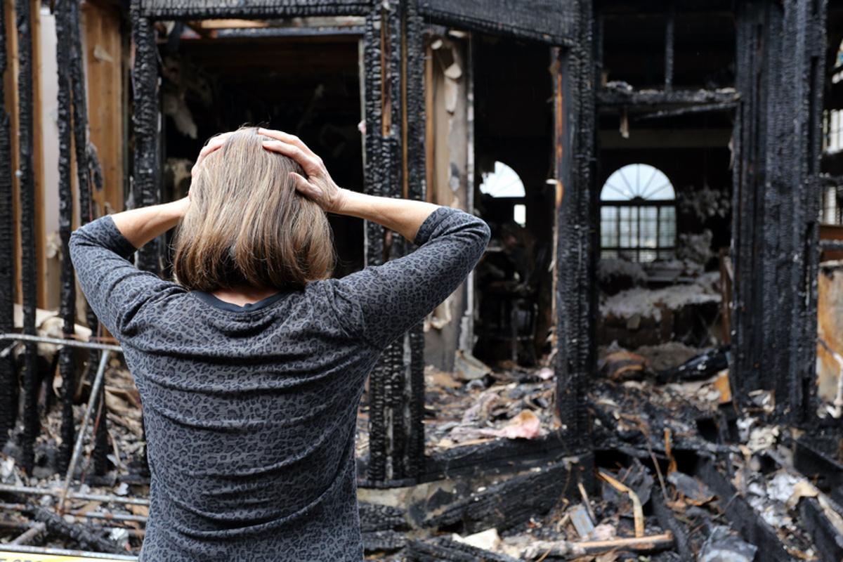 отчет об оценке ущерба от пожара